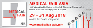 2018.08 Medical Fair Asia in Singapore (MFA)